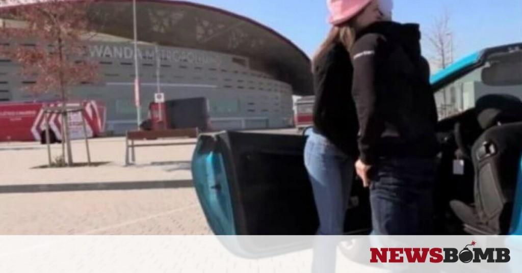 Το τερμάτισε: Γύρισε ταινία πορνό έξω από το γήπεδο της Ατλέτικο Μαδρίτης