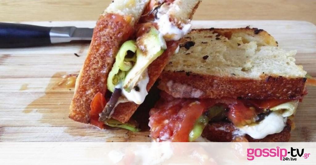 Sandwich μπριάμ | Gossip-tv.gr
