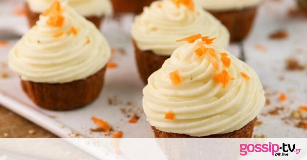 Carrot cake cupcakes | Gossip-tv.gr