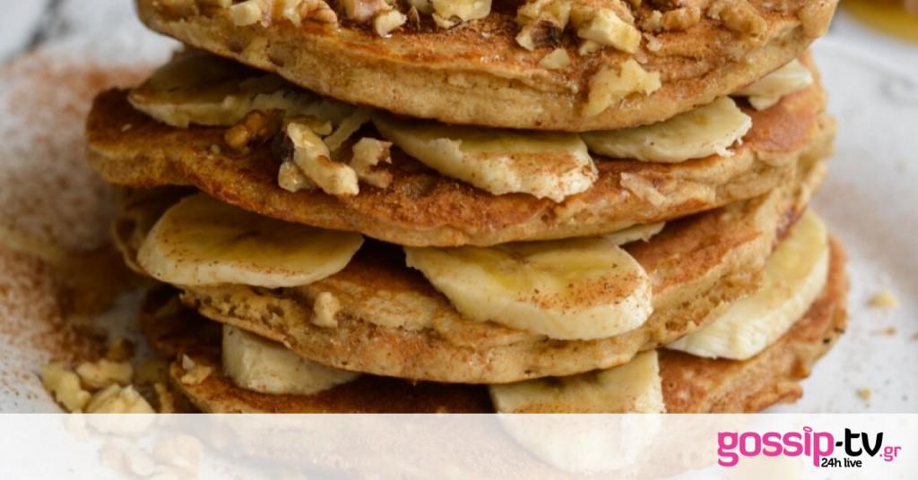 Pancakes με αλεύρι βρώμης | Gossip-tv.gr