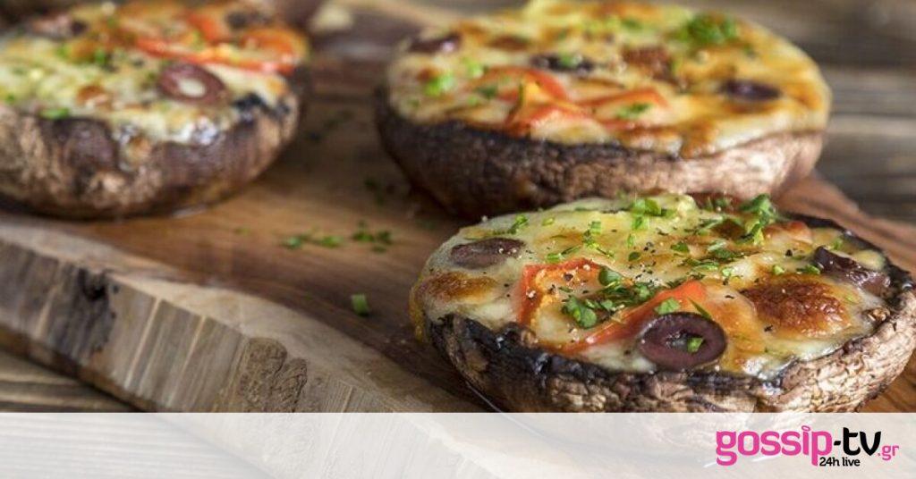 Μία διαφορετική συνταγή! Μανιτάρια πίτσα από τον Άκη Πετρετζίκη