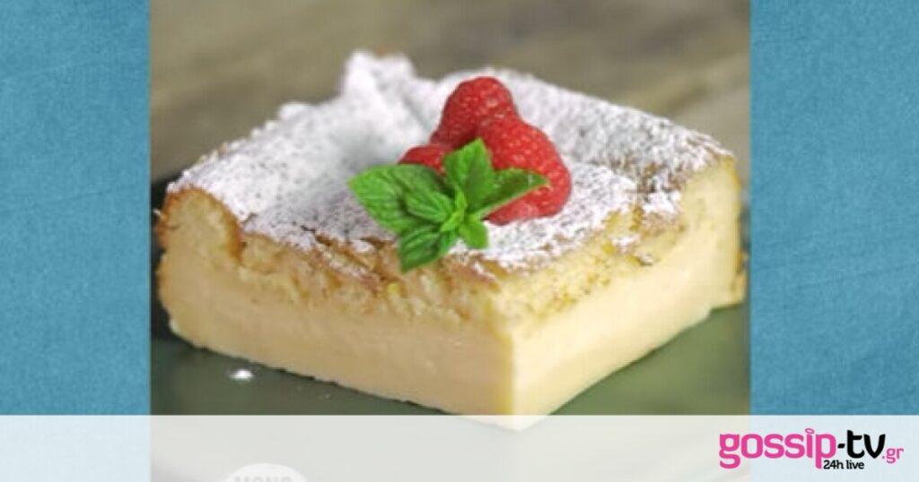 Magic cake από τα… μαγικά χέρια του Άκη Πετρετζίκη